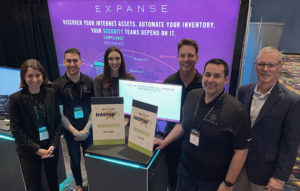 Expanse team with Interop 2019 Awards